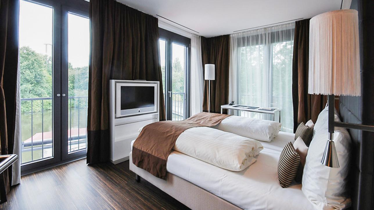 Hotelzimmer Eberhards