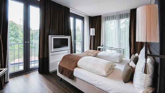 Ein Hotelzimmer des Eberhards